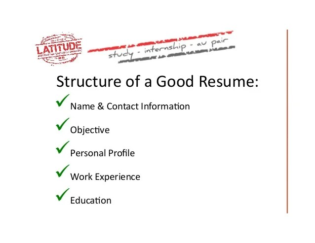 cv vs resume amp how to write a good resume