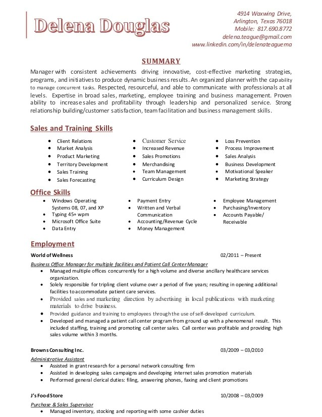 sample resume personal athletic trainer resume template example