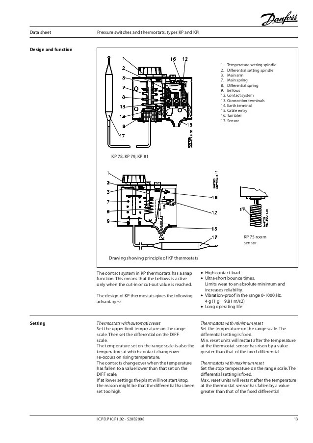 Wiring Diagram For Danfoss Compressor : Danfoss pressure switch wiring diagram