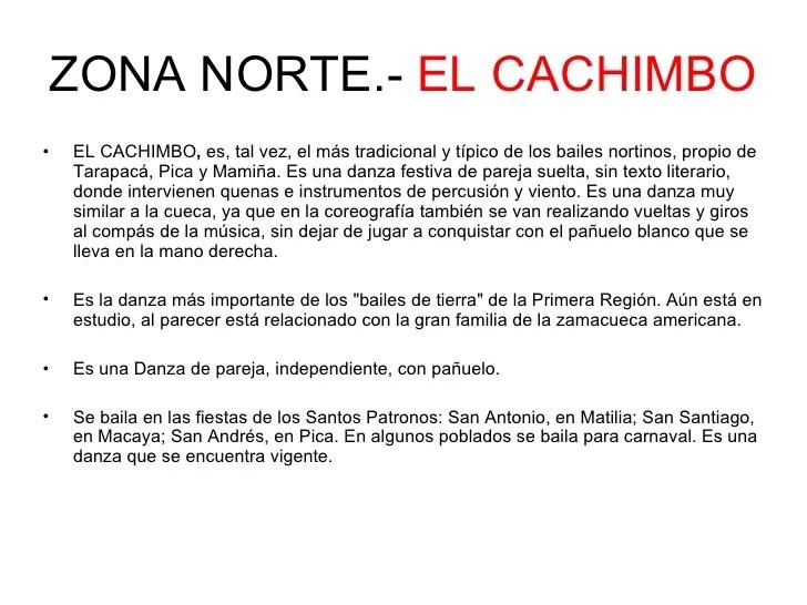 Bailes De La Zona Norte Chile
