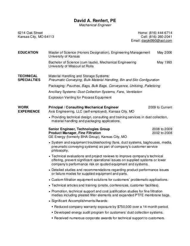 Hvac Resumes Examples. Hvac Technician Resume Hvac Resumes Good