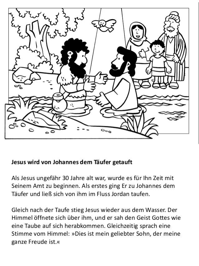 Das Leben Jesu Fr Kinder Malbuch