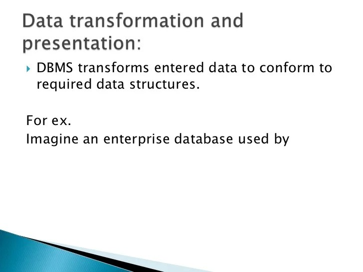 Database Security Issues Dbms