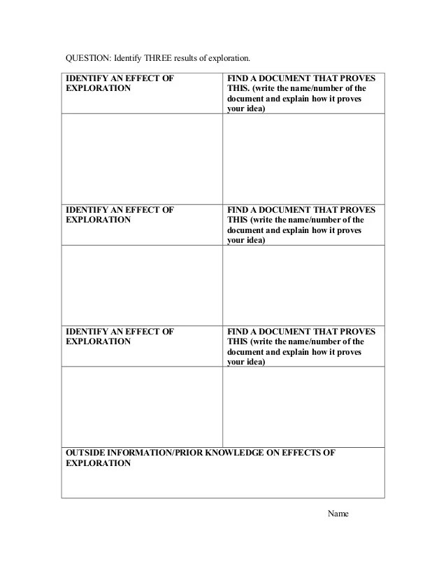 cause and effect essay rubrics