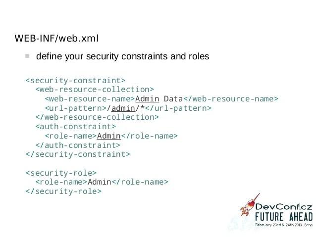 Webxml Security Constraint Exclude Url Pattern