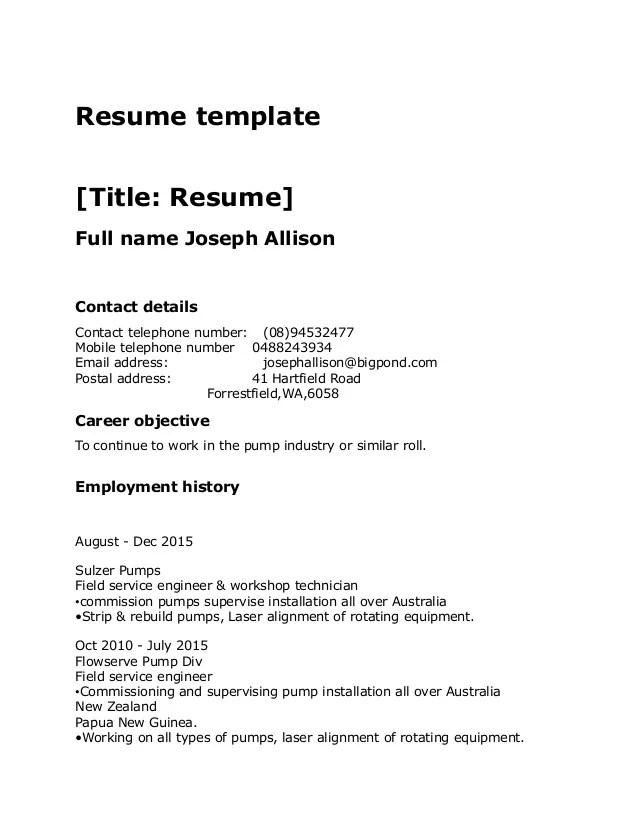 resume format free resume format basic resume format download resume