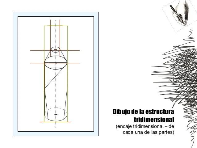 Dibujo 1 Encaje Y Estructura