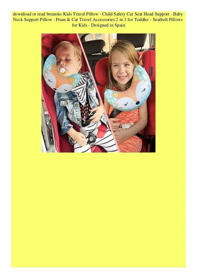 child safety car seat head supp