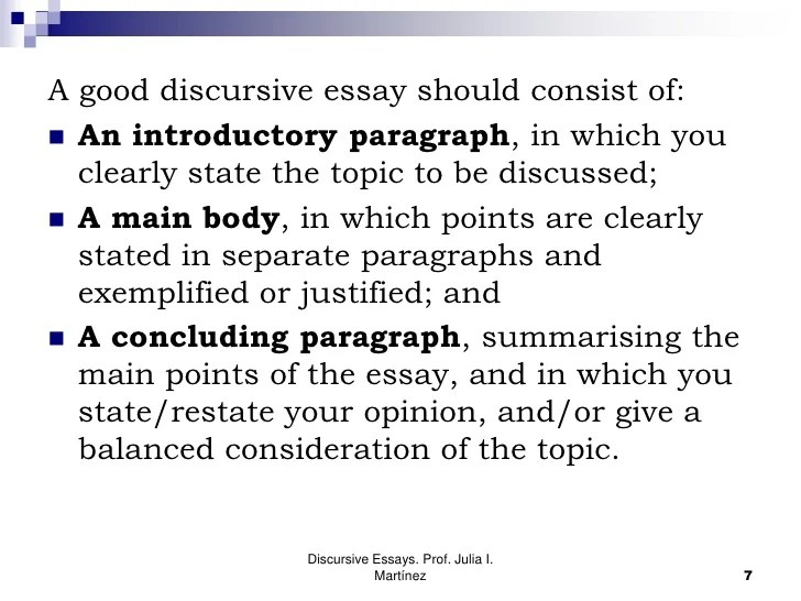 Discursive Essays  Matenglishblog Discursive Essays Essay For Science also Science Vs Religion Essay  How To Write A Good Thesis Statement For An Essay
