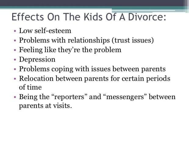 Positive Effects Following A Divorce