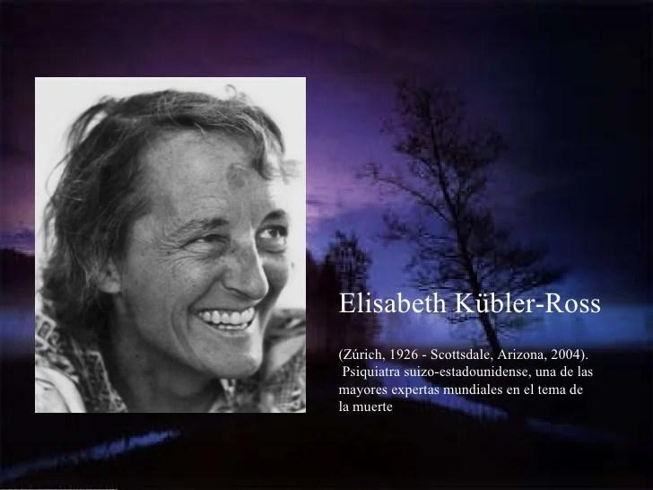Doctora suiza Elisabeth Kubler-Ross