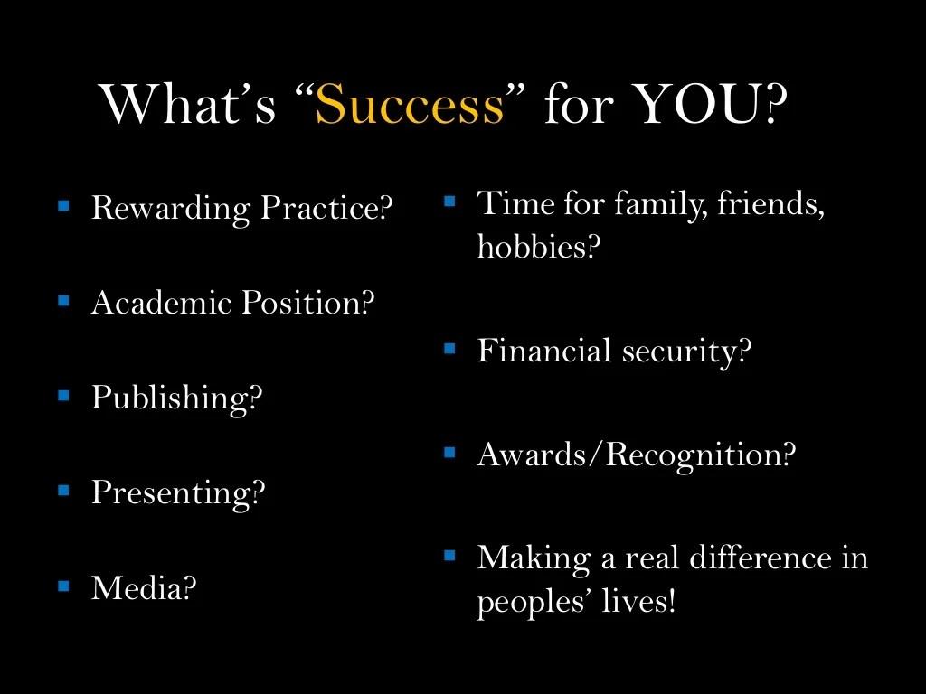 Career Vision Worksheet