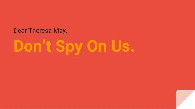 Image result for don't spy on us