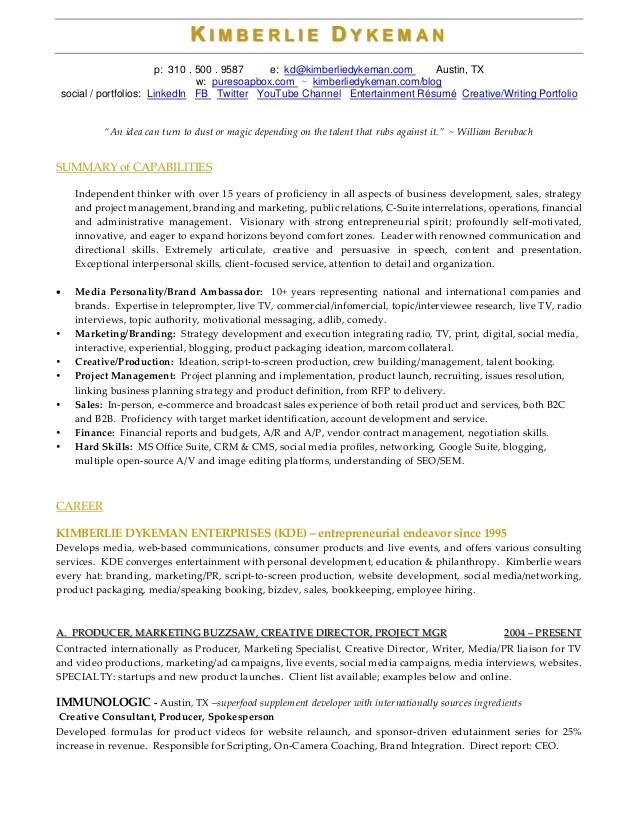 media production resume samples old version old version tvnew media producer page1 assistant