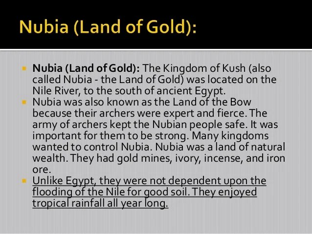 Gold Mining Sites Ancient Kush Ancient Egypt Kingdom