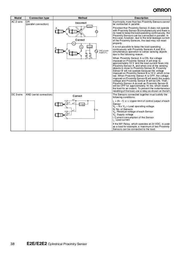 Exelent 2wire Proximity Switch Wiring Sketch - Schematic Diagram ...