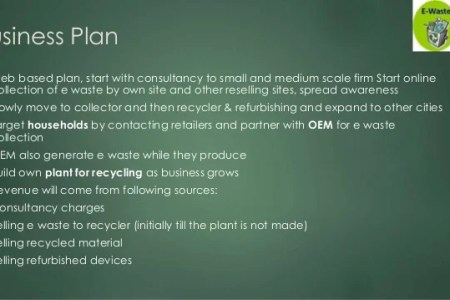 Mlm business plan template free  import export business india canada     Electronic waste management business plan small scale business from  home improving employee productivity and efficiency   Plans Download