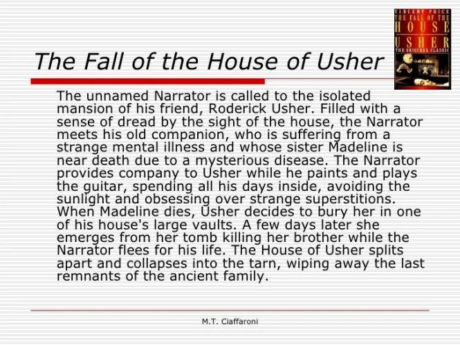 Summary Of The Story Fall House Usher By Edgar Allan Poe Best – The Fall of the House of Usher Worksheet
