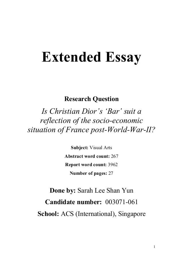 Economics Reflective Essay Ideas - image 9