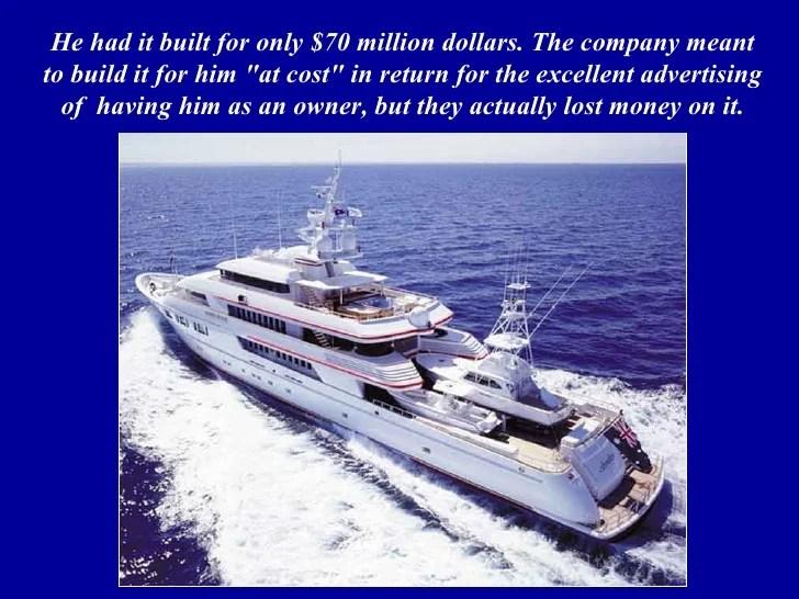 El Barco De Greg Norman