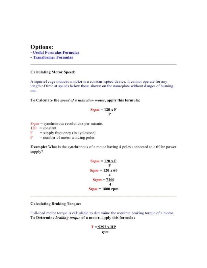 Hydraulic Motor Torque Calculation Metric | Caferacersjpg com