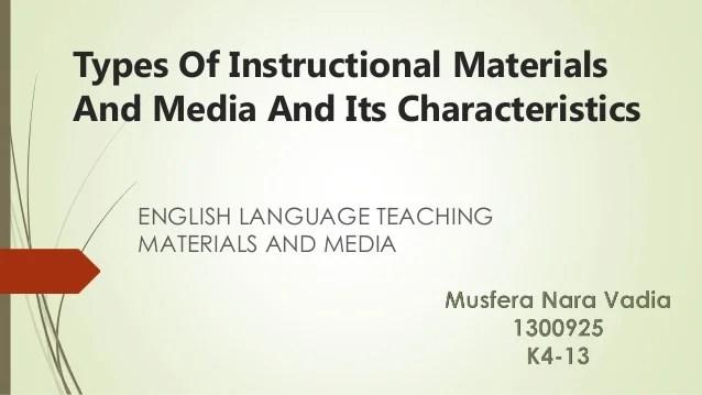 Types Media Literacy