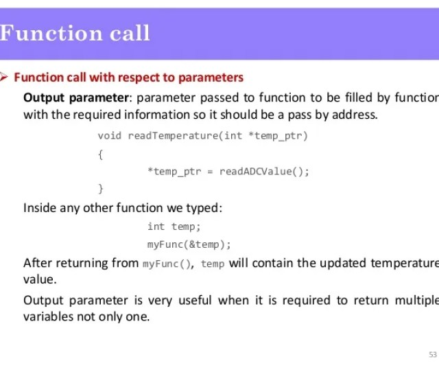 52 Function Call 53  Ef 83 98 Function Call With Respect To Parameters