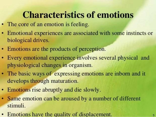 Emotional development in Adults