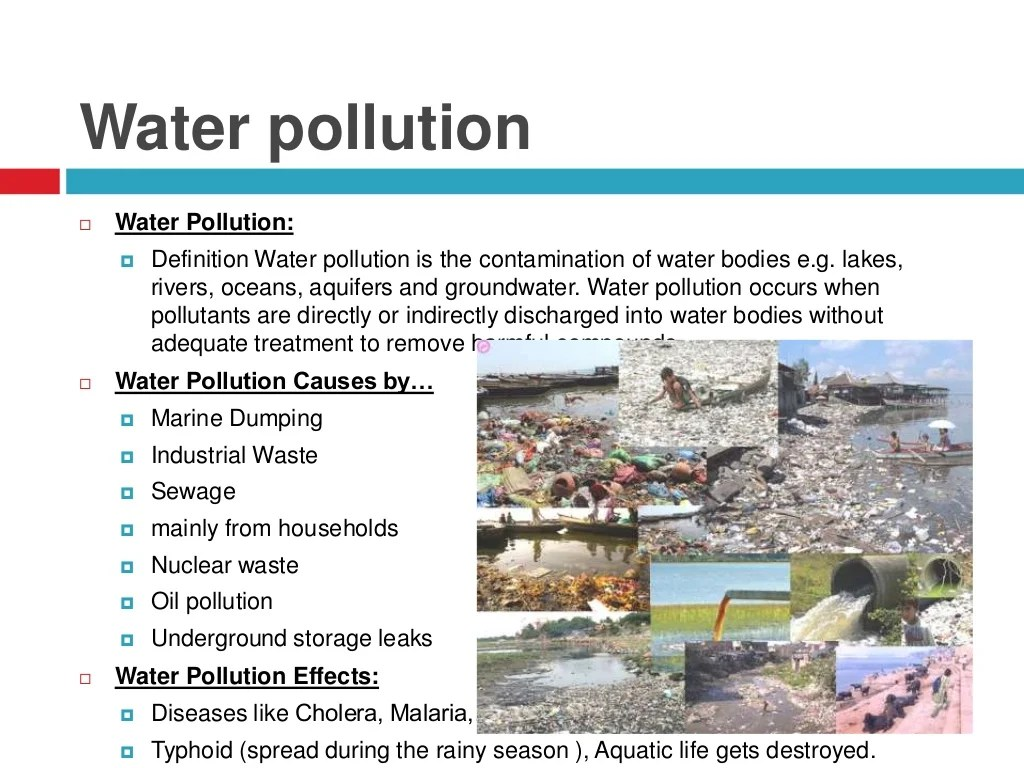 Environment Amp Environmental Pollution Causes Effects