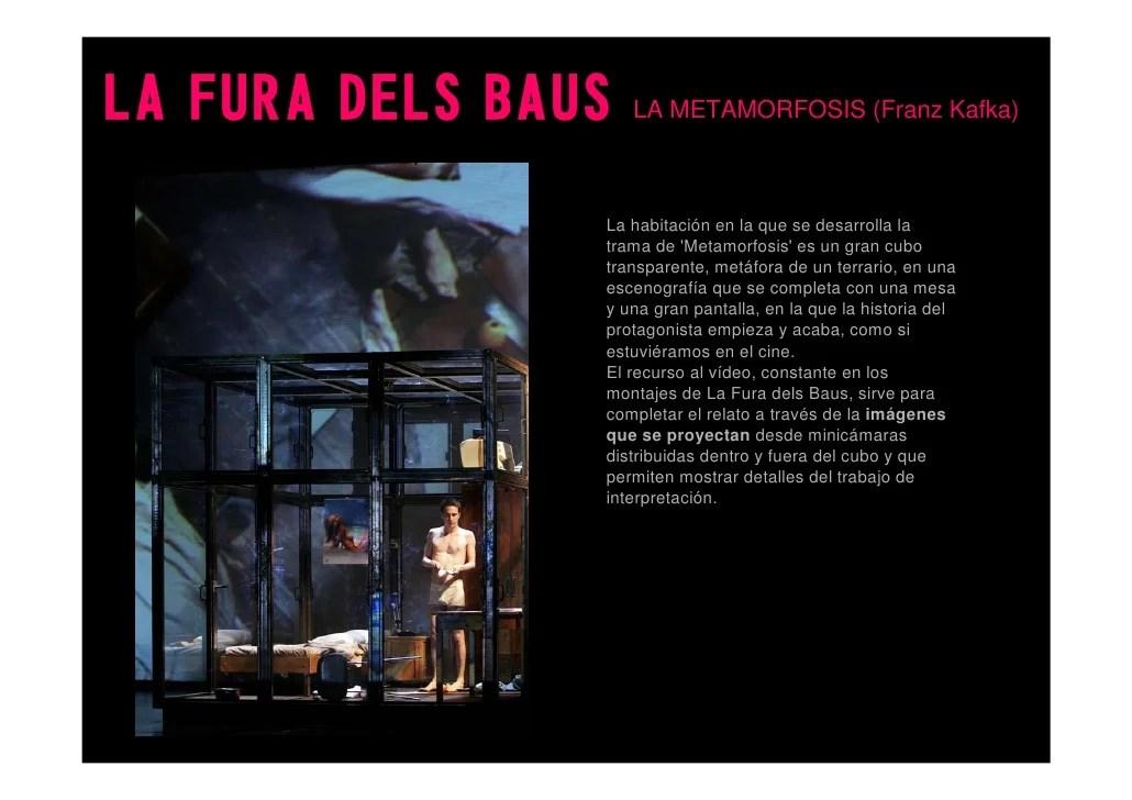 LA FURA DELS BAUS LA METAMORFOSIS (Franz Kafka) La habitación en la que se desarrolla la ...