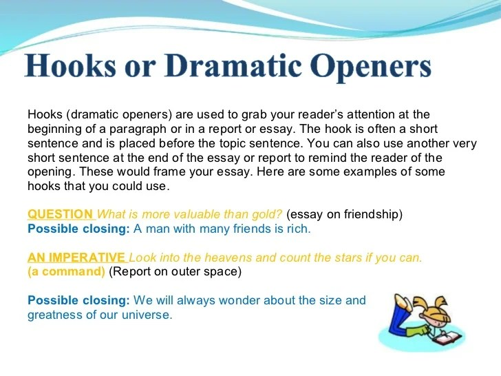 how to write good hook sentences essay writing tips for writing a happy hook how to write good hook sentences essay writing tips for writing a happy hook - Examples Of A Good Essay Introduction