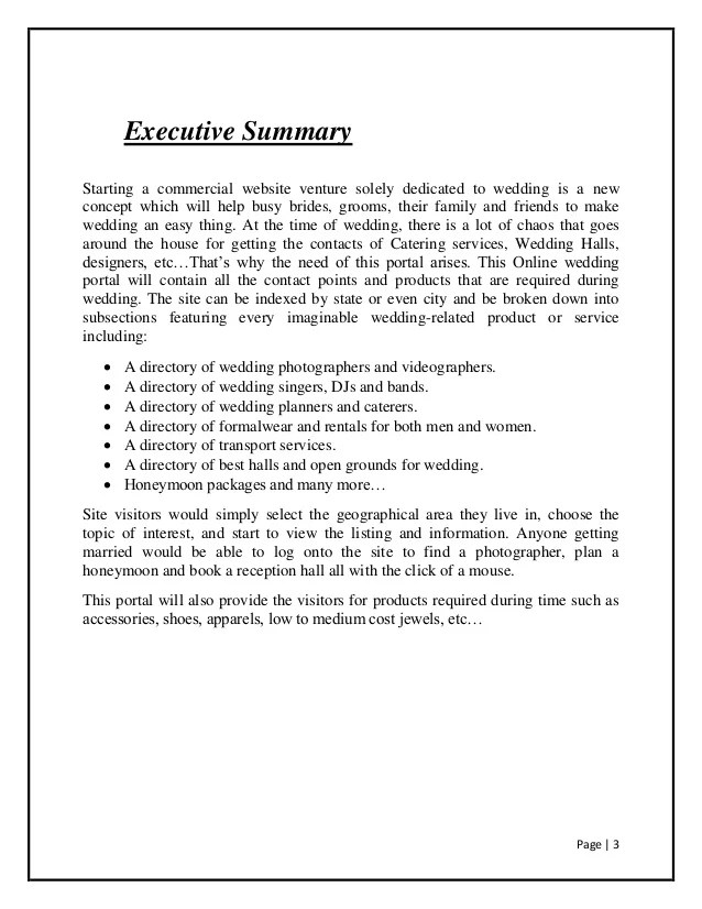 Resume writing service business plan