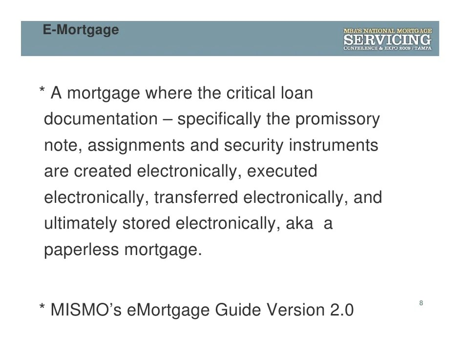 E To The Rescue: Opportunity in Mortgage Servicing and ...