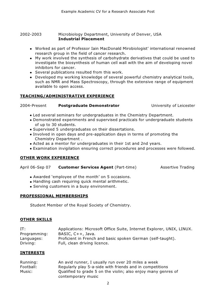 how to create an academic resume gopitch co