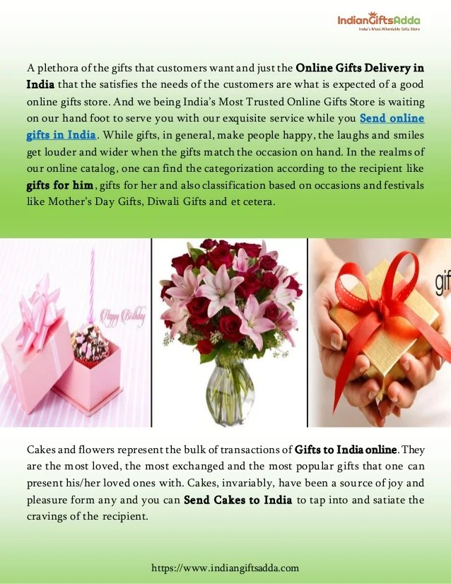 Send Birthday Gifts Online Same Day Delivery India Dealssite Co
