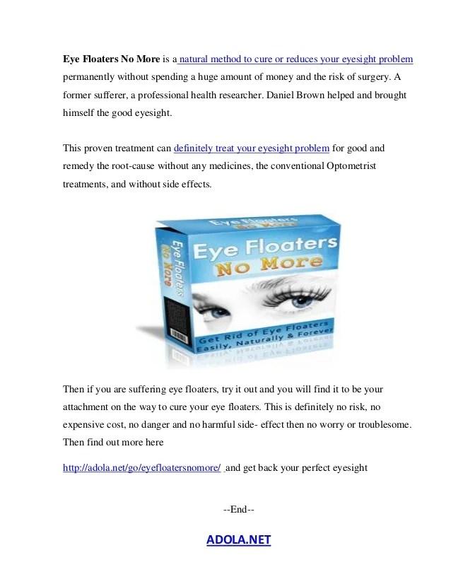 Eye Floaters Drops