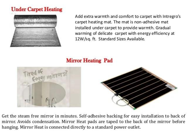 Radiant Floor Heating Under Rug