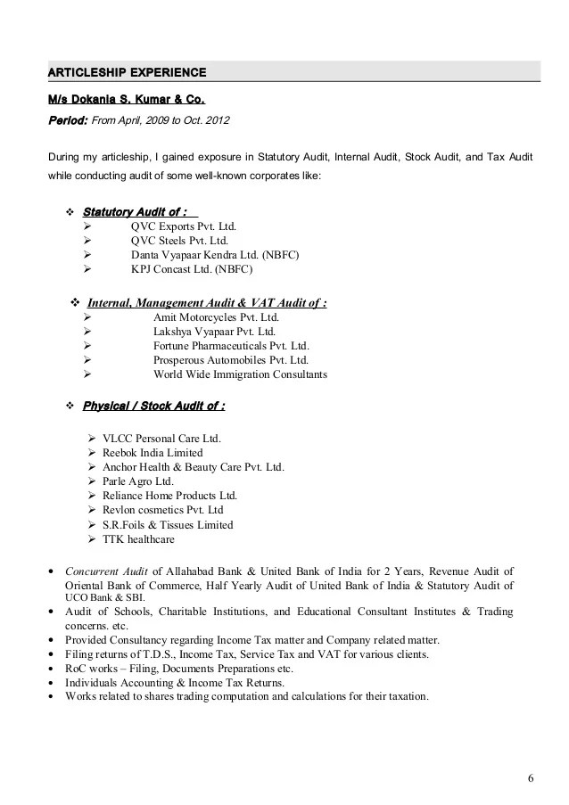 Audit Internship Description On Resume. undergraduate ...