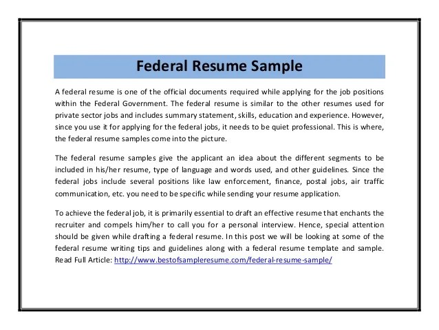 Federal Resume Template Federal Government Resume Example  Httpwwwresumecareerinfofederal Military Resume Writing Service Reviews  Vosvete