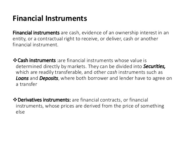 Securities Types Ownership