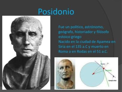 Resultado de imagen para Posidonio