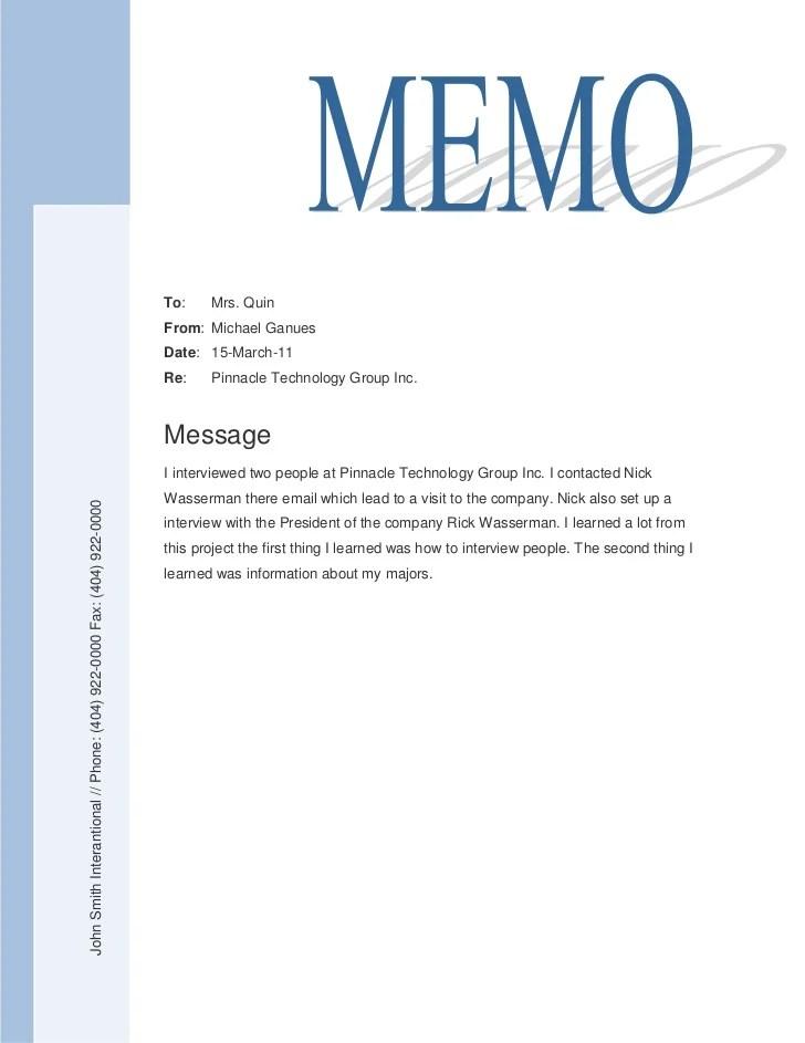 Doc728942 Sample Memo Sample Memorandum 82 Similar Docs – Sample Company Memo