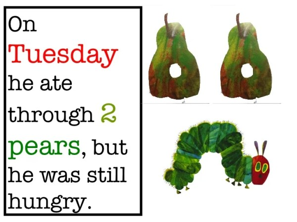 the very hungry caterpillar text # 11