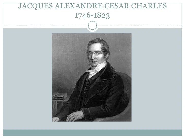 Alexandre Charles Cesar Invention Jacques