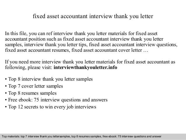 fixed asset accountant