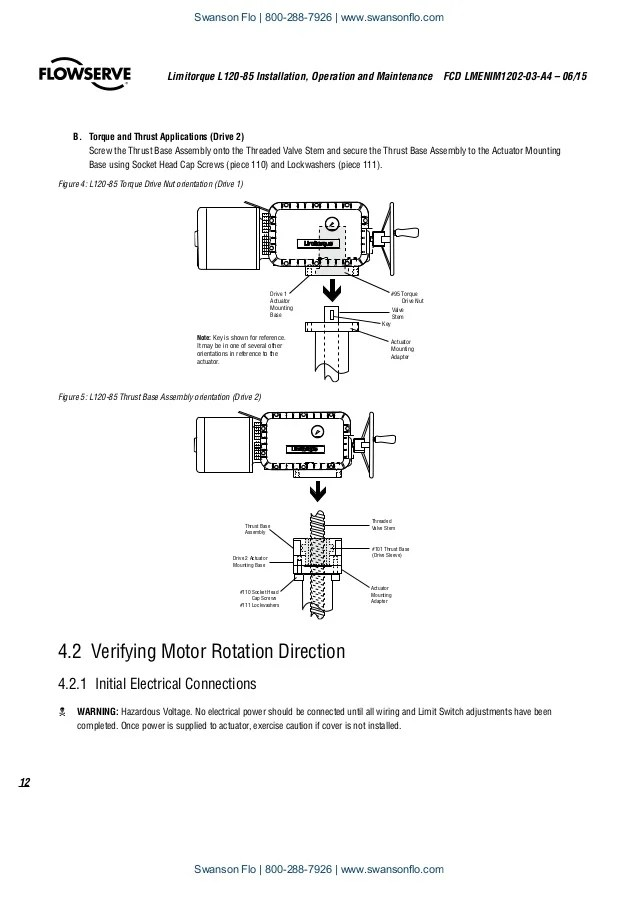 Limitorque Wiring Diagram & Wiring Diagram For Motor Operated Valve ...