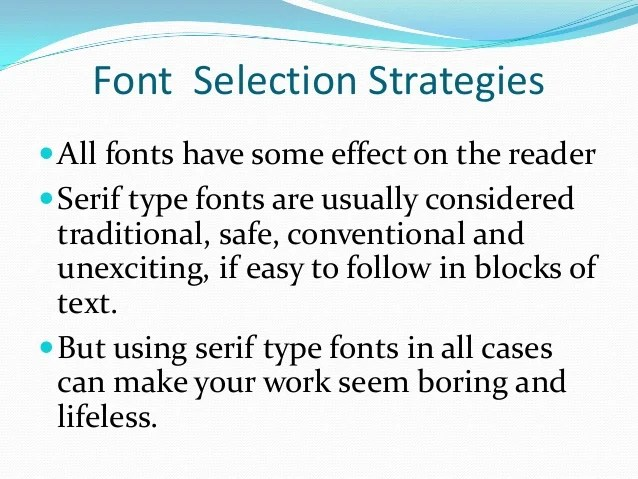 font size resume current student basic font usage resumes college
