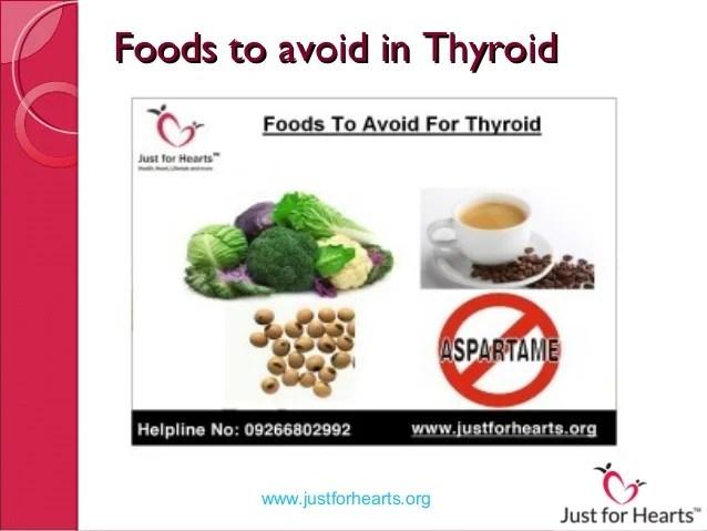 Top 5 foods to avoid in thyroid