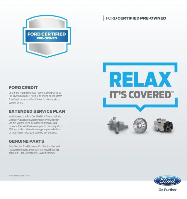 Ford Certified Pre-Owned Program| Farmington Used Car Dealer