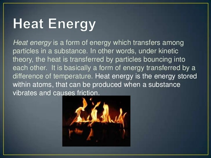 Energy Chemical Examples Kinetic